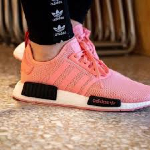 Adidas Nmd Rare All Pink Youth 65 Wms 8